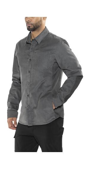 Arc'teryx Merlon overhemd en blouse lange mouwen grijs